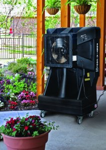 Outdoor Air Conditioner with 900 sq ft Capacity